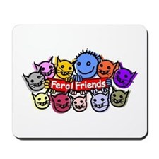 Feral Friends Mousepad