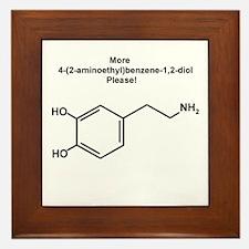 More 4-(2-aminoethyl)benzene-1,2-diol {dopamine} F