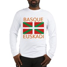 Basque-Euskadi Long Sleeve T-Shirt