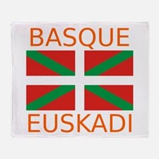 Basque-Euskadi Throw Blanket