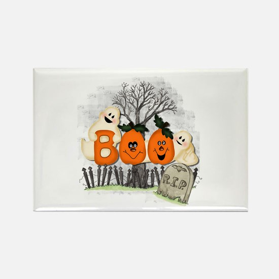 BOO Rectangle Magnet