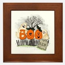 BOO Framed Tile