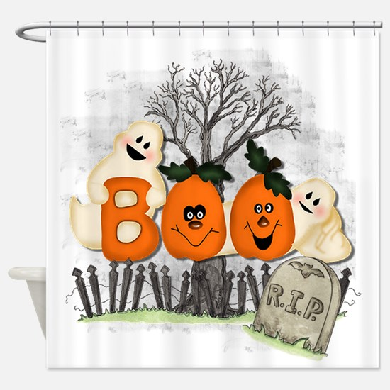 BOO Shower Curtain
