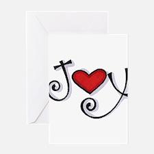 Joy.jpg Greeting Card