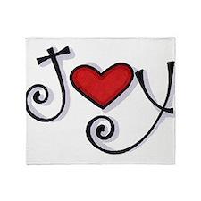 Joy.jpg Throw Blanket