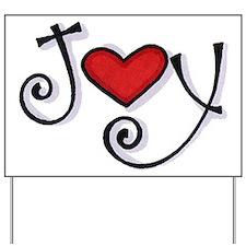 Joy.jpg Yard Sign
