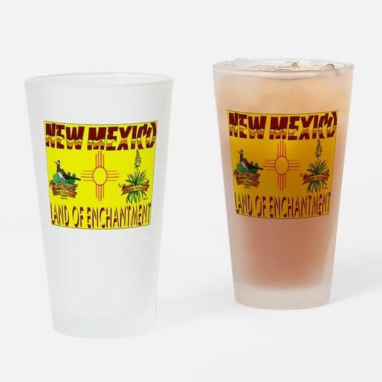 new mexico.jpg Drinking Glass