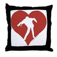 Love – Zombies Throw Pillow