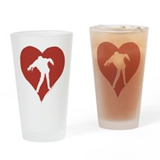 Love – Zombies Drinking Glass
