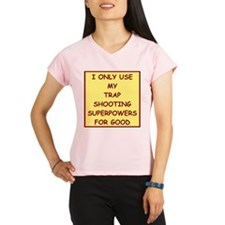 trap shooting Peformance Dry T-Shirt