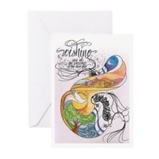 Symbols Of Sanctity Greeting Cards (Pk of 20)