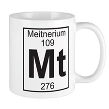 Element 109 - Mt (meitnerium) - Full Small Mug