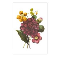 Redoute Bouquet Postcards (Package of 8)