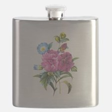 Redoute Bouquet Flask