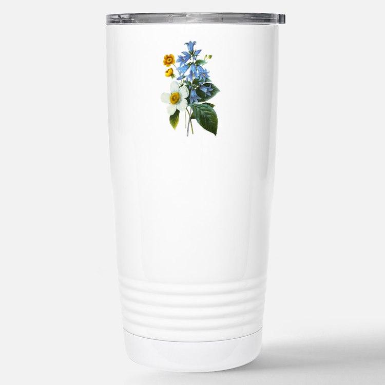 Redoute Bouquet Travel Mug