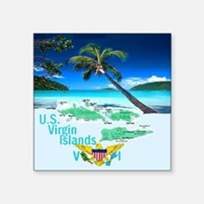 VIRGIN ISLAND Sticker