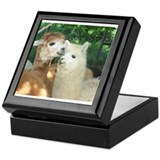 Alpaca Square Keepsake Boxes