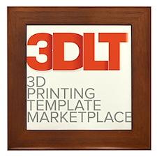 3DLT Logo Framed Tile