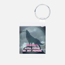 alpha werewolf Keychains