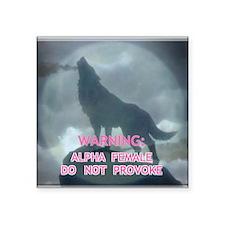alpha werewolf Sticker