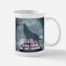 alpha werewolf Small Small Mug