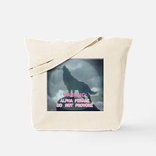 alpha werewolf Tote Bag