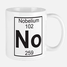 Element 102 - No (nobelium) - Full Mug