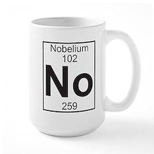 Element 102 - No (nobelium) - Full Mug