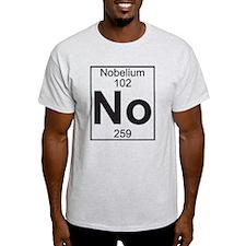 Element 102 - No (nobelium) - Full T-Shirt