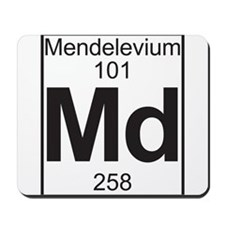 Element 101 - Md (mendelevium) - Full Mousepad