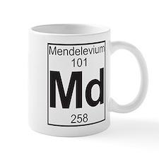 Element 101 - Md (mendelevium) - Full Small Mug