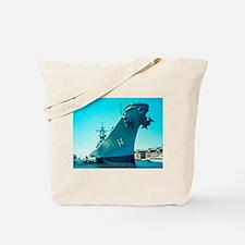 USS Wisconsin Tote Bag