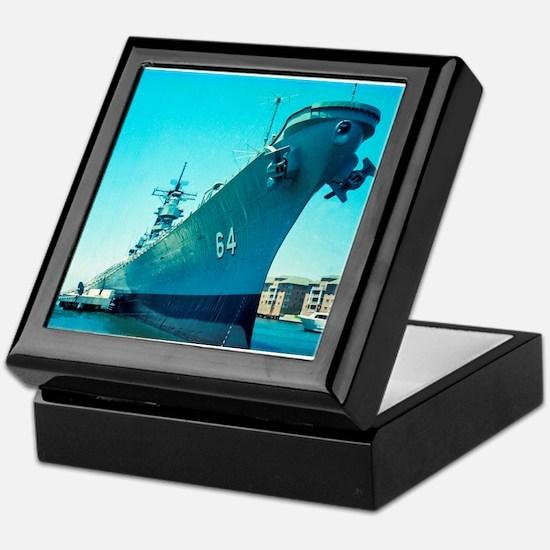 USS Wisconsin Keepsake Box