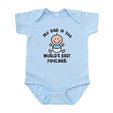 Best Pipeliner Dad Infant Bodysuit