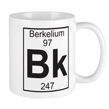 Element 97 - Bk (berkelium) - Full Small Mug