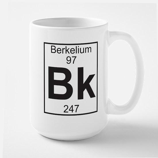 Element 97 - Bk (berkelium) - Full Mug