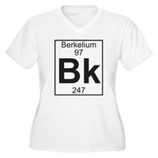 Element 97 - Bk (berkelium) - Full Plus Size T-Shi