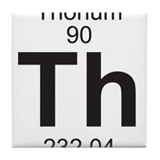 Element 90 - Th (thorium) - Full Tile Coaster