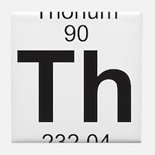 Element 90 - Th (thorium) - Full Tile Coaster