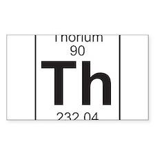 Element 90 - Th (thorium) - Full Decal