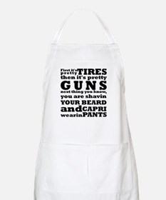 Next thing you know... Apron