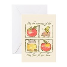 Apples & Honey Greeting Cards (Pk of 20)