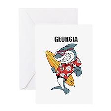 Georgia Greeting Card
