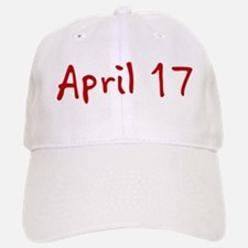April 17 Baseball Baseball Cap
