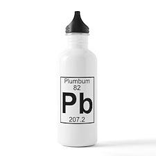 Element 82 - Pb (plumbum) - Full Water Bottle