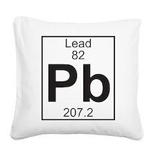 Element 82 - Pb (lead) - Full Square Canvas Pillow
