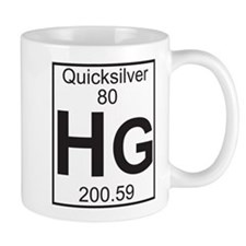 Element 80 - Hg (quicksilver) - Full Mug