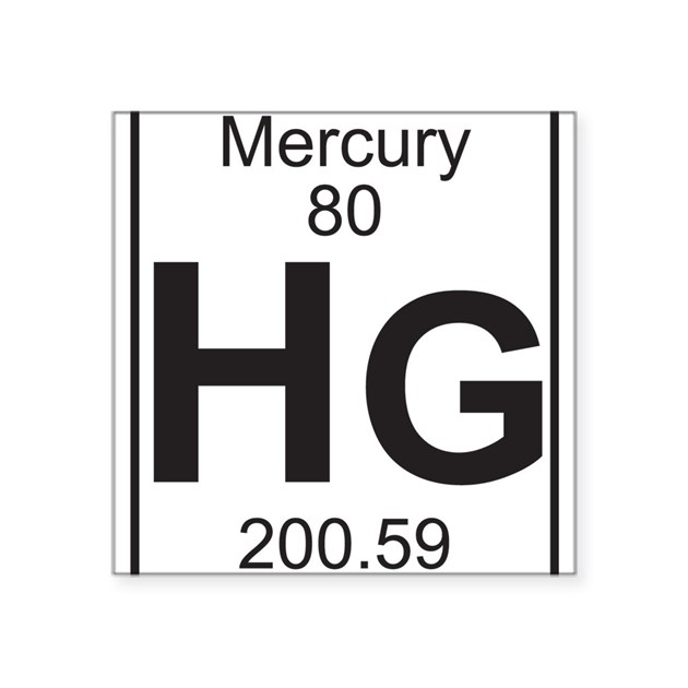 Element 80 Hg Mercury Full Sticker By Listing Store