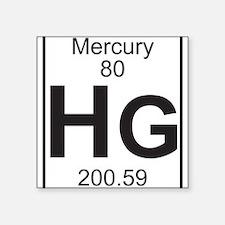 Element 80 - Hg (mercury) - Full Sticker