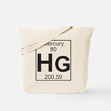 Element 80 - Hg (mercury) - Full Tote Bag